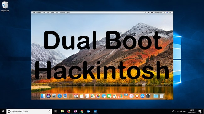 How to Dual Boot Hackintosh Windows 10 and MacOS High Sierra