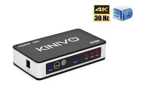Kinivo 301BN HDMI Switch
