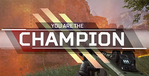 you are the champion