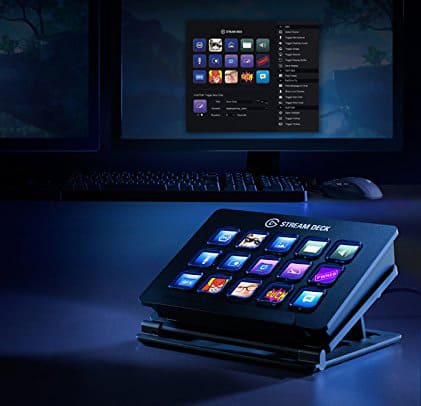 Elgato Stream Deck in use