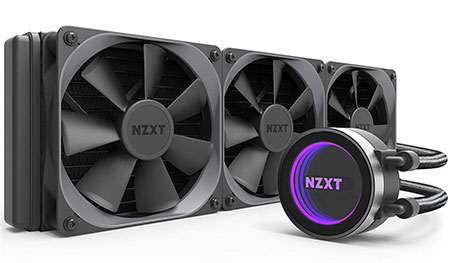 NZXT Kraken X72 Liquid CPU Cooler