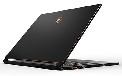 MSI GS65 Stealth design