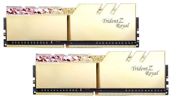 G.Skill 16GB DDR4 Trident Z Royal Gold