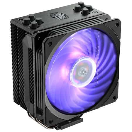 Cooler Master Hyper 212 RGB top budget air cooler